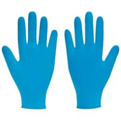 Polyco Gloves nitrile size xl Blue 100 pieces