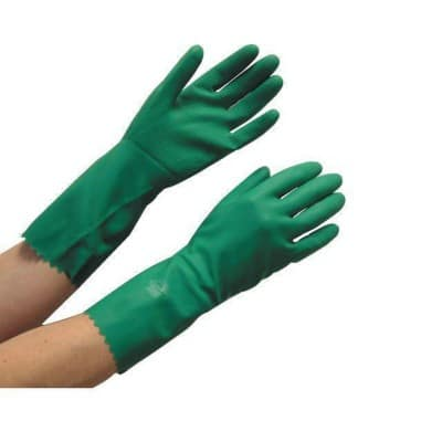 Polyco Gloves Rubber Size M Green