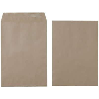 Office Depot C4 Envelopes 229 x 324mm Gummed Plain 80gsm Brown Pack of 250