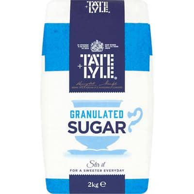Tate & Lyle Granulated Sugar White 2 kg