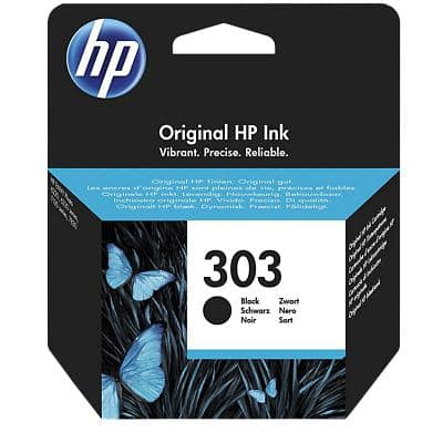 HP 303 Original Ink Cartridge T6N02AE Black
