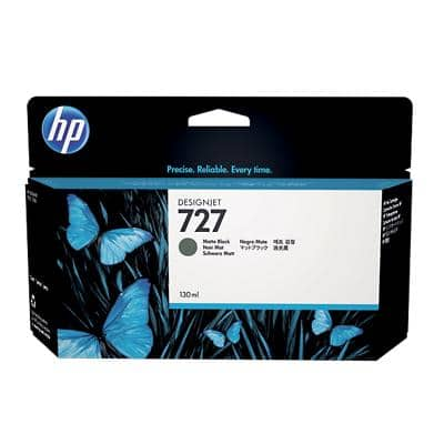 HP 727 Original Ink Cartridge B3P22A Matte Black
