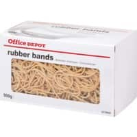 Office Depot Rubber Bands Ø 120 mm 120 x 1.5 mm 500 g