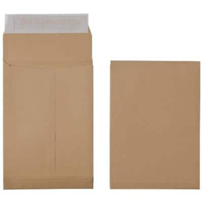 Office Depot C5 Gusset Envelopes 162 x 229mm Peel and Seal Plain 120gsm Brown 125 Pieces