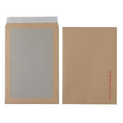 Office Depot Board Back Envelopes C4 Peel and Seal 324 x 229mm Plain 115gsm Brown 125 Pieces