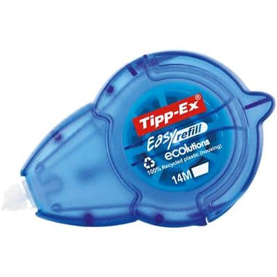 Tipp-Ex Correction Tape Roller Easy Refill 5 mm x 14 m White