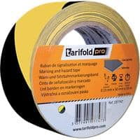 Tarifold Floor Marking Tape Vinyl 5 cm Yellow & Black