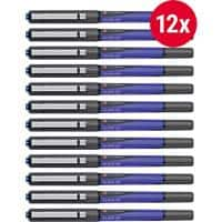 Foray Glide XF Rollerball Pen Blue Pack 12