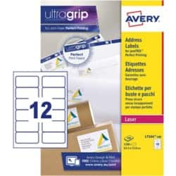 Avery Laser Labels L7164-100 White 1200 labels per pack