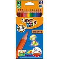 BIC Colouring Pencils 829029 Multi 12 Pieces