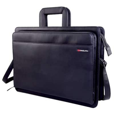 Monolith Document Case 2774 32 x 43 x 12 cm Black
