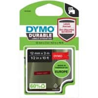 DYMO Labelling Tape 1978366 12 mm x 3 m White , Red