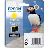 Epson Ink Cartridge T3244 Yellow, Original, Pigment-based ink, Epson, SureColor SC-P400, 1 pc(s)