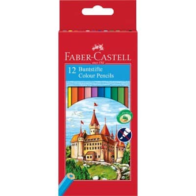 Faber-Castell colouring pencils pack 12
