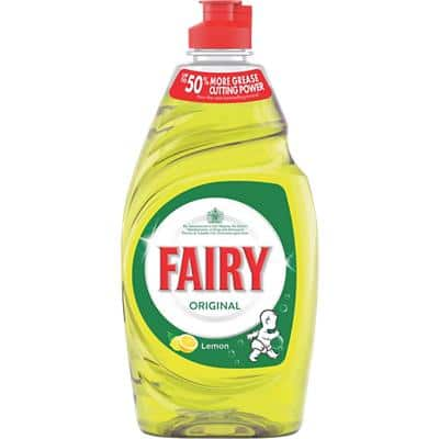Fairy Original Washing Up Liquid Lemon 433ml