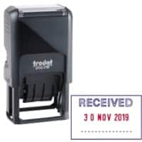 Trodat Ecoprinty 47501 Date Stamp Black