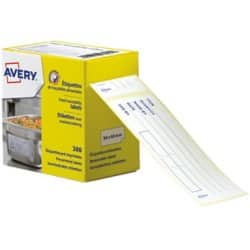 Avery ETIHACCP Labels White 98 x 40 mm 300 Pieces