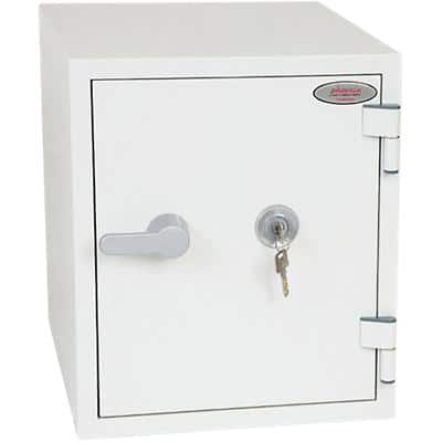 Phoenix Fireproof Safe FS1282K White 350 x 430 x 410 mm