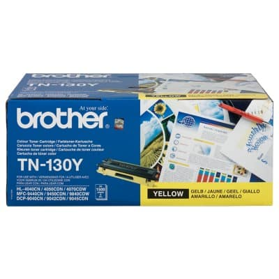 Brother TN-130 Original Toner Cartridge Yellow