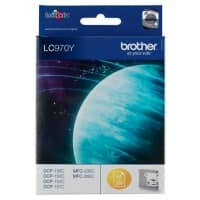 Brother LC970Y Original Ink Cartridge Yellow