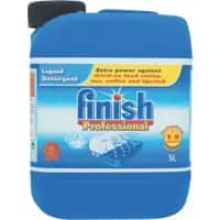 Finish Professional Liquid Dishwash Detergent Keep Dishes Shining Extra Power 5L