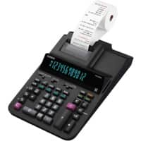 Casio Printing Calculator With Roll FR-620RE 12 Digit Display Black