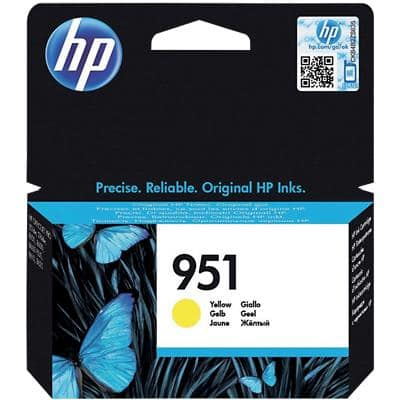 HP 951 Original Ink Cartridge CN052AE Yellow
