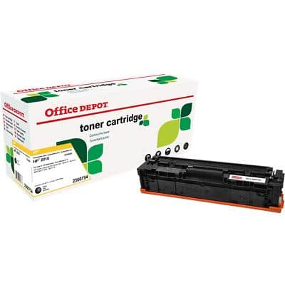 Compatible Office Depot HP 201X Toner Cartridge CF400X Black