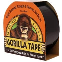 Gorilla Duct Tape 48 mm x 11 m Black 11 m