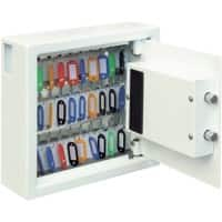 Phoenix Key Deposit Safe 30 Hook with Electronic Lock Cygnus KS0031E 300 x 100 x 280mm White