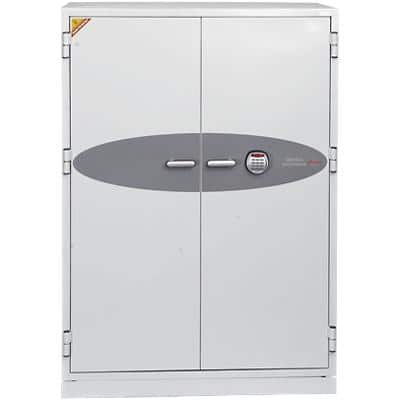 Phoenix Size 3 Data Safe with Electronic Lock 457L Data Commander DS4623E  1685 x 1200 x 720mm White