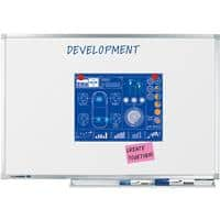 Legamaster Wall Mountable Magnetic Whiteboard Enamel Professional 180 x 120 cm