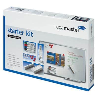 Legamaster Whiteboard Starter Kit 240 x 50 x 350mm White
