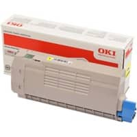 OKI 46507613 Original Toner Cartridge Yellow Yellow