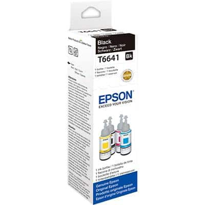 Epson T6641 Original Ink Cartridge C13T664140 Black