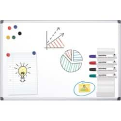 Office Depot Standard magnetic Whiteboard lacquered steel 150 x 100 cm