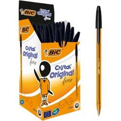 BIC Ballpoint Pen 872731 Black Pack 50