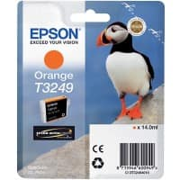 Epson Ink Cartridge T3249 Orange, Original, Pigment-based ink, Epson, SureColor SC-P400, 1 pc(s)