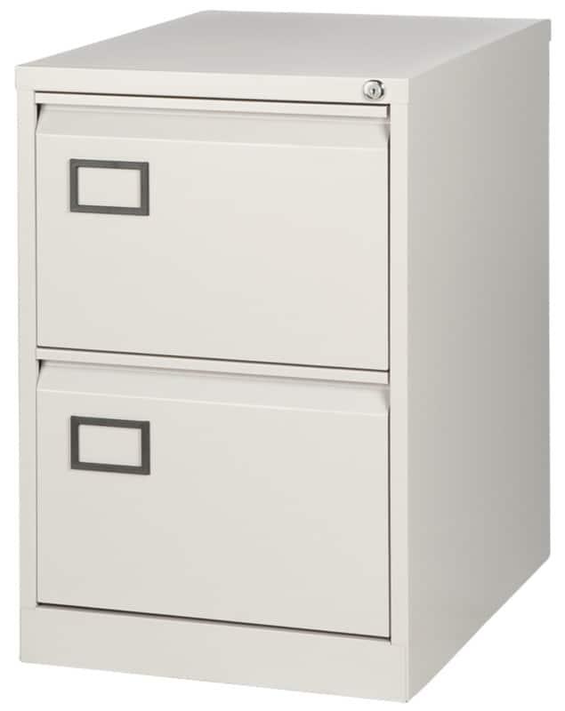 Bisley Filing Cabinet AOC2 Grey 711 X 470 X 622 Mm