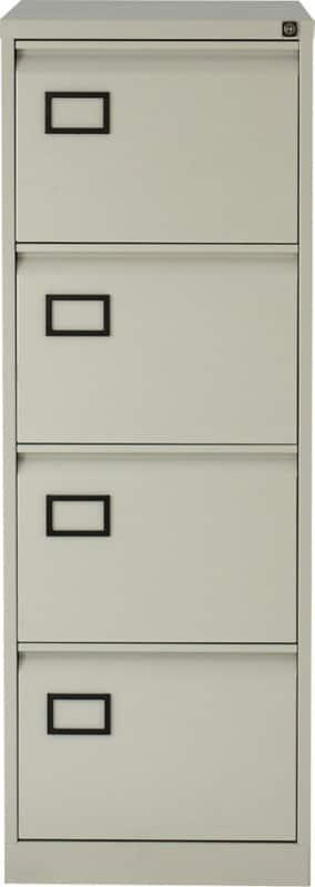 Bisley Filing Cabinet AOC4 Grey 1,312 X 470 X 622 Mm