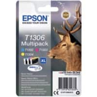 Epson T1306 Original Ink Cartridge C13T13064012 3 Colours 3 Pieces