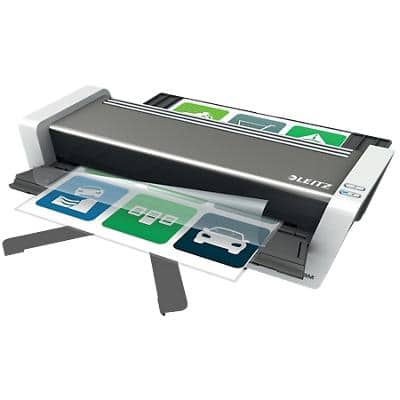 Leitz iLAM Touch 2 Turbo A3 Laminator, Highspeed 1500 mm/min. Warm Up Time 1 min up to 2 x 250 (500) Micron