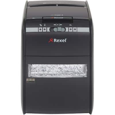 Rexel Auto+ 90X Cross-Cut Shredder Security Level P-3 100 Sheets