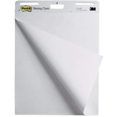 Post-it Flipchart Pad 559 White 63.5 x 77.5 cm 2 Pieces of 30 Sheets