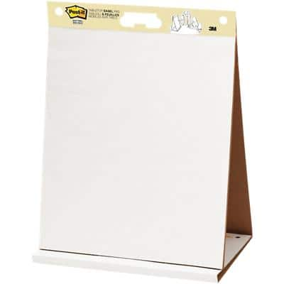 Post-it Freestanding Tabletop Easel Pad 563R 50 x 60cm White 20 Sheets