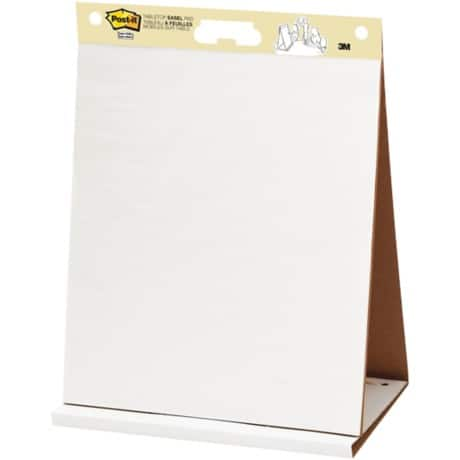 Post-it® Table Top Easel Pad (510 mm x 690 mm) 1 pad per pack