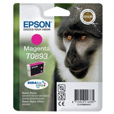 Epson T0893 Original Ink Cartridge C13T08934011 Magenta