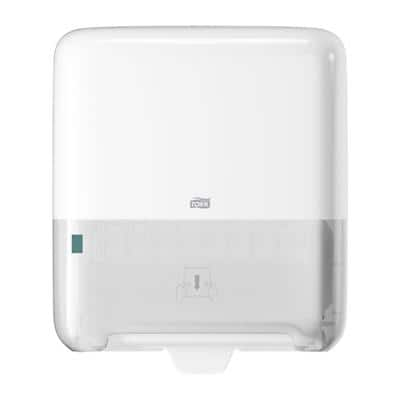 Tork Rolled Hand Towel Dispenser H1 Matic Plastic White 33.7 x 20.3 x 37.2 cm