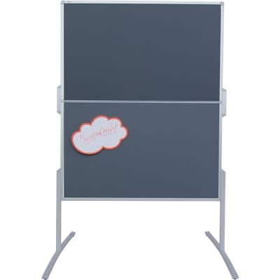 Franken Foldable Display Board Grey 120 x 150 cm