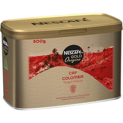 NESCAFÉ Gold Origins Collection Cap Colombia Instant Ground Coffee Tin 500g